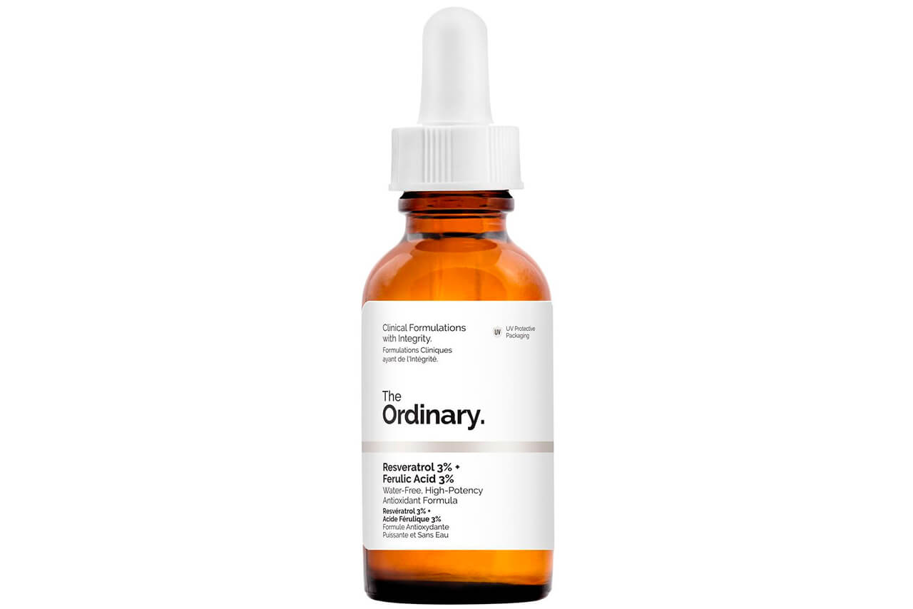 Сыворотка для лица The Ordinary Resveratrol 3% + Ferulic Acid 3%