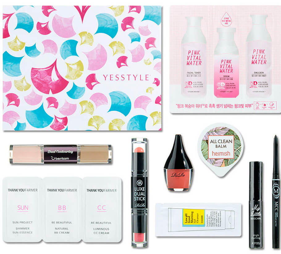 YesStyle Beauty Box Sweet Spring Makeup Kit купить