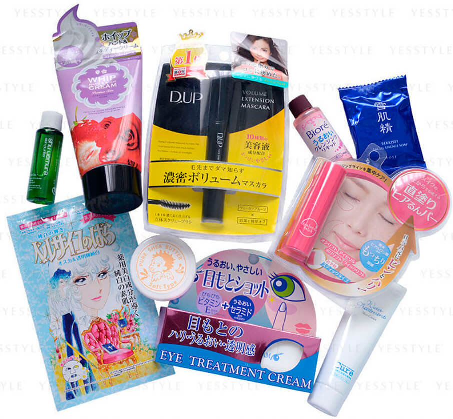 YesStyle Beauty - Japanese Beauty Sample Set купить