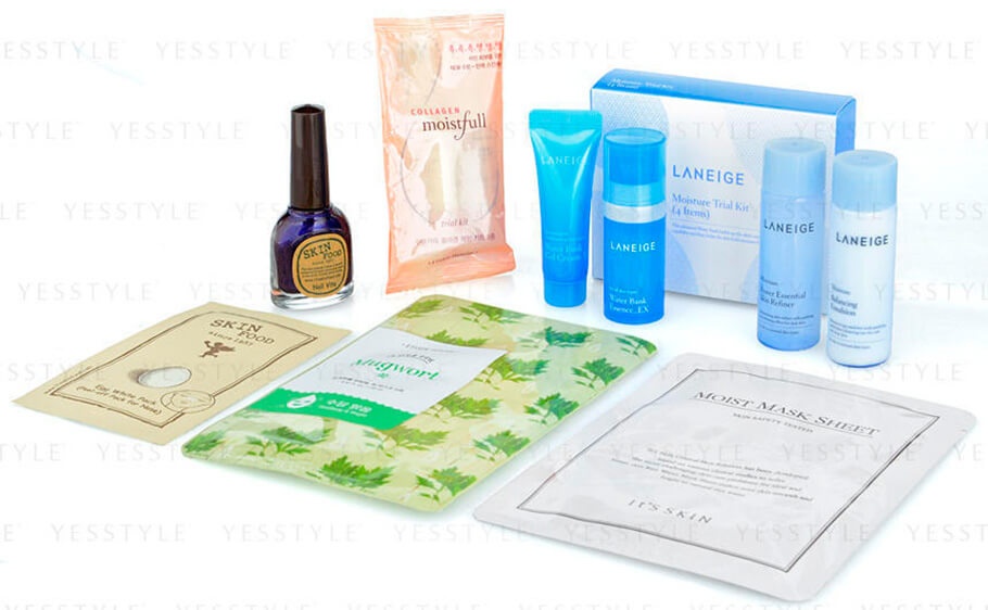 YesStyle Beauty - Korean Beauty Sample Set купить