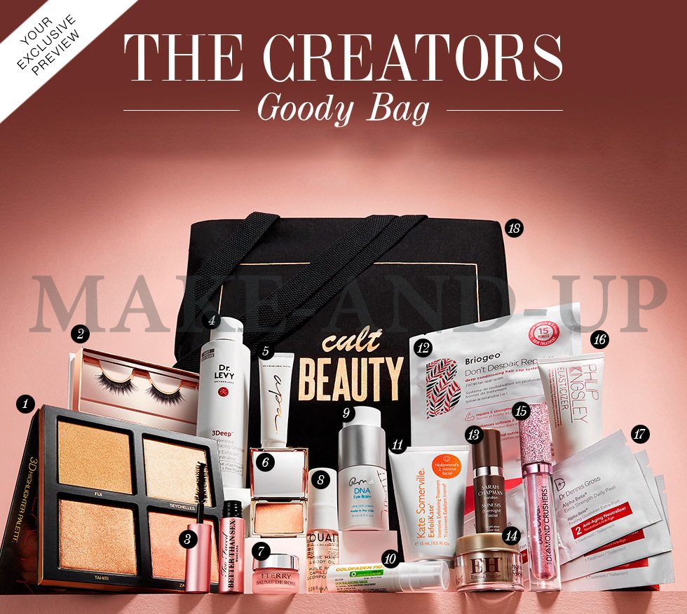 Cult Beauty The Creators Goody Bag весна 2018