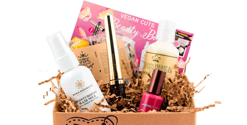 Vegan Cuts Beauty Box купить