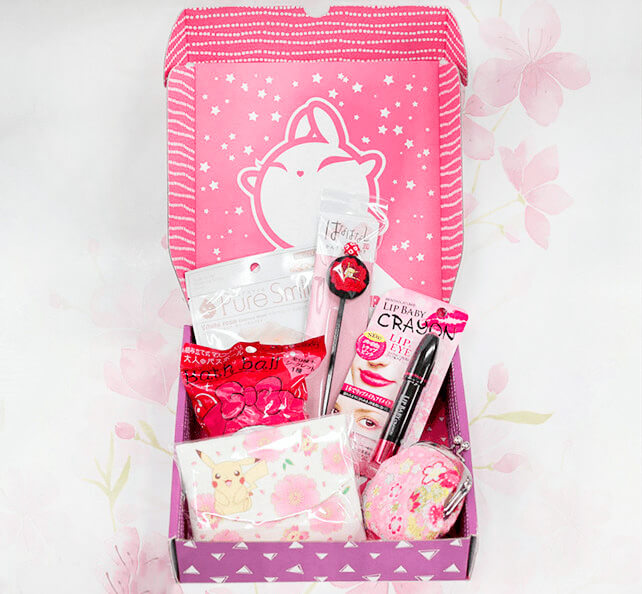 Бьюти-бокс ZenPop Japanese Beauty Pack - Blooming Beauty