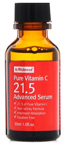 Сыворотка для лица с витамином С By Wishtrend Pure Vitamin C 21.5 Advanced Serum