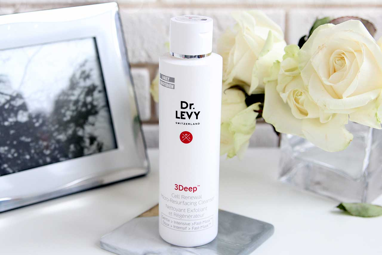 Dr.Levy Switzerland 3 Deep Cell Renewal Micro-Resurfacing Cleanser отзыв