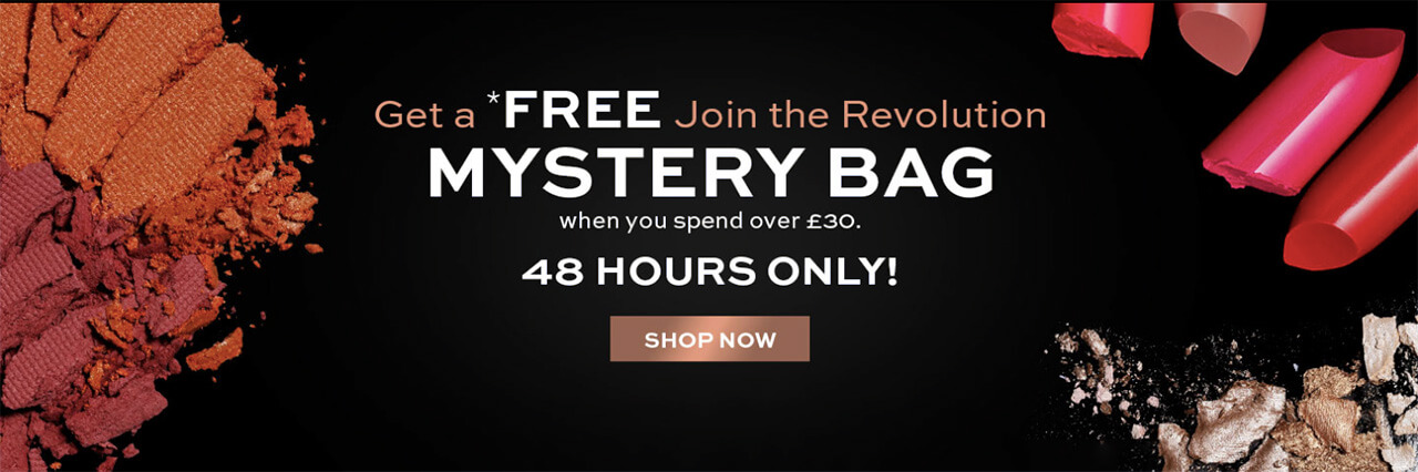 Revolution Beauty Mystery Bag апрель 2018