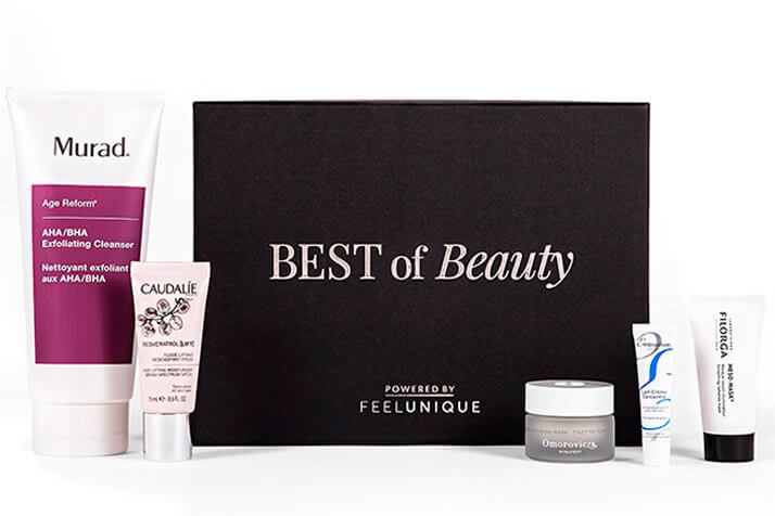 Skincare Essentials Beauty Box Powered by Feelunique наполнение