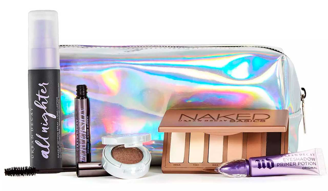 Urban Decay x Feelunique Beauty On The Go Kit наполнение