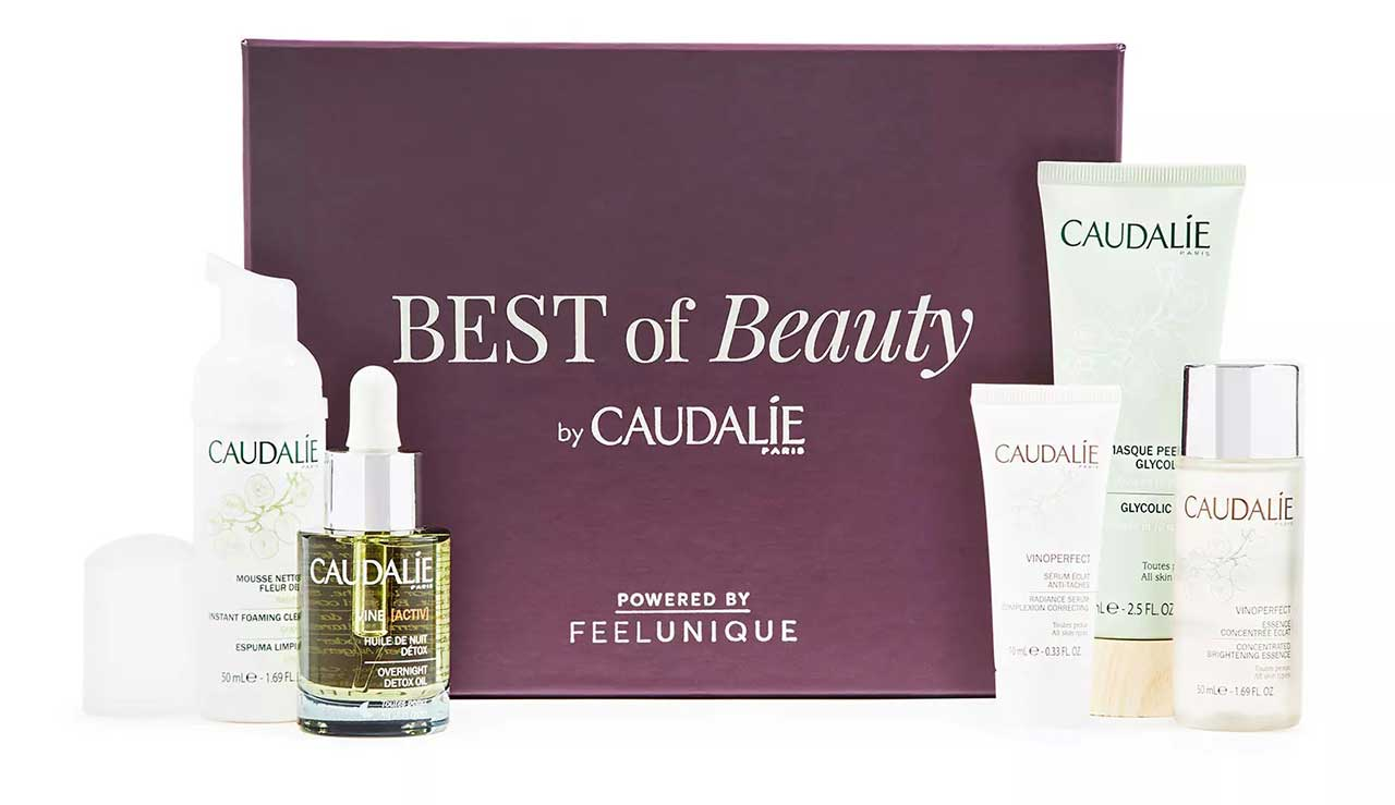 Бьюти-бокс Caudalie Mixology Beauty Box Powered by Feelunique