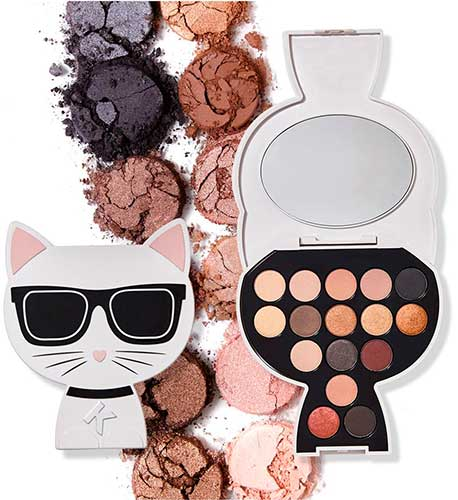 Палетка Karl Lagerfeld + Modelco Choupette Collectable Eyeshadow Palette Day to Night