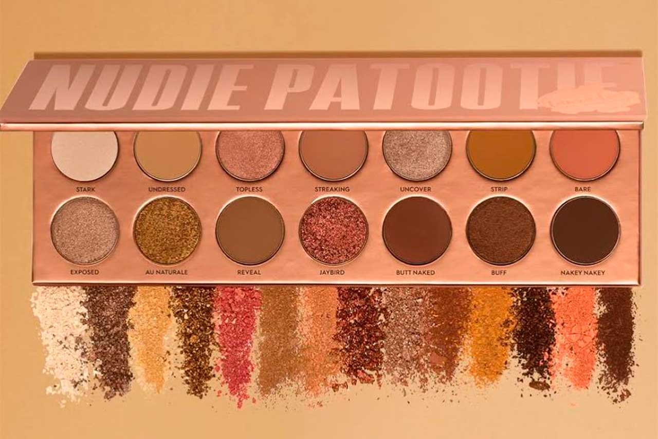 Палетка Laura Lee Nudie Patootie Eyeshadow Palette