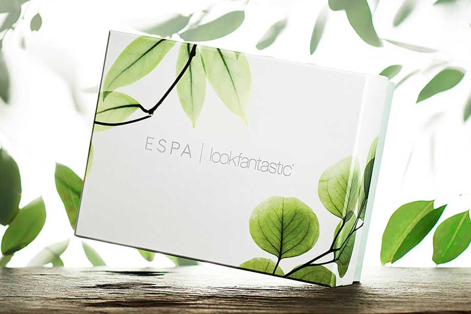 Lookfantastic x ESPA Limited Edition Beauty Box наполнение