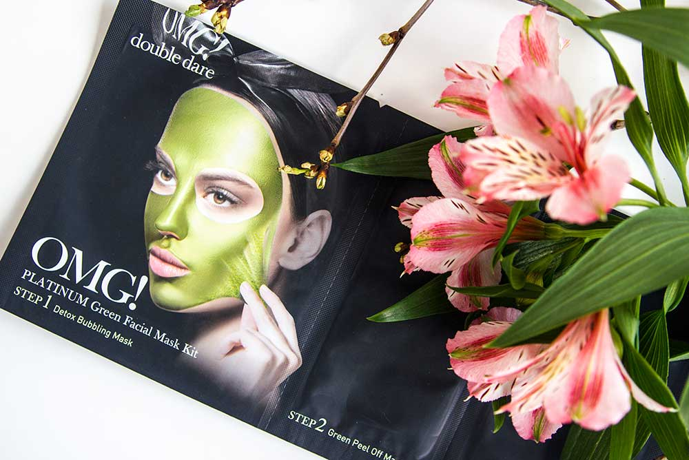 Double Dare OMG! Platinum Green Facial Mask Kit отзыв