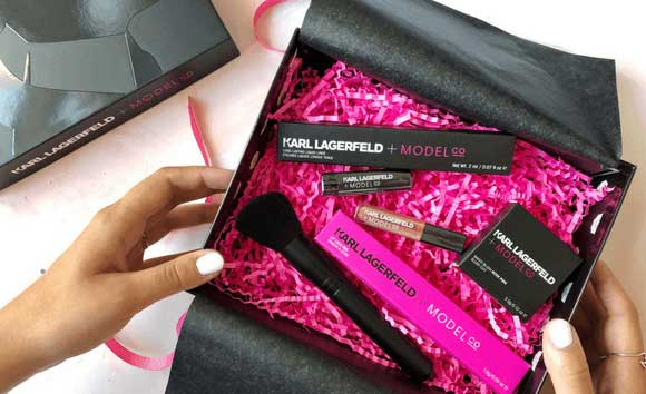 Karl Lagerfeld + ModelCO Limited Edition Beauty Box наполнение