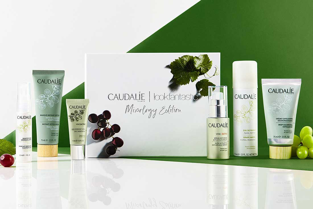 Lookfantastic x Caudalie Mixology Edition Beauty Box наполнение