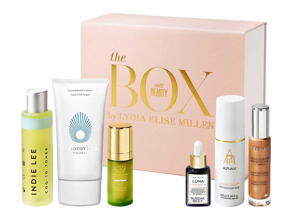The Cult Beauty Box by Lydia Elise Millen наполнение