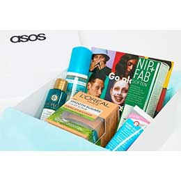 Asos Summer Skin Box наполнение