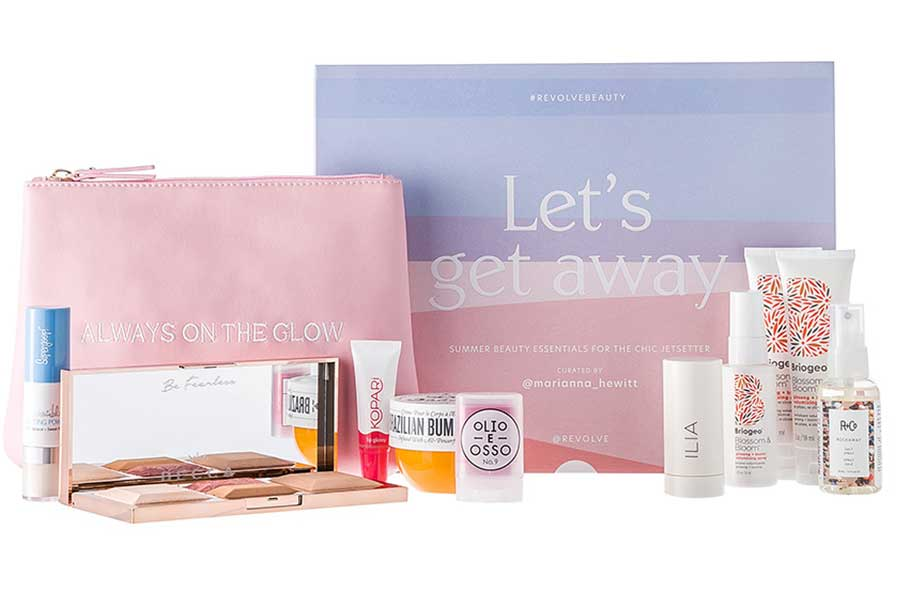 Бьюти-бокс Revolve x Marianna Hewitt Let's Get Away Beauty Box