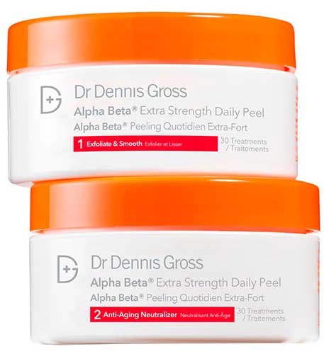 Диски с кислотами Dr Dennis Gross Ferulic Alpha Beta Peel Extra Strength Formula