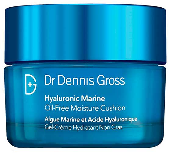 Крем для лица Dr Dennis Gross Hyaluronic Marine Oil-Free Moisture Cushion