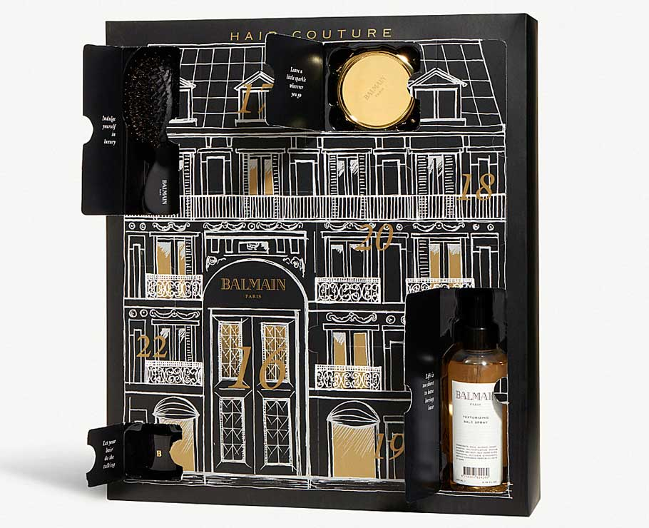 Адвент-календарь Balmain Limited Edition Advent Calendar 2018