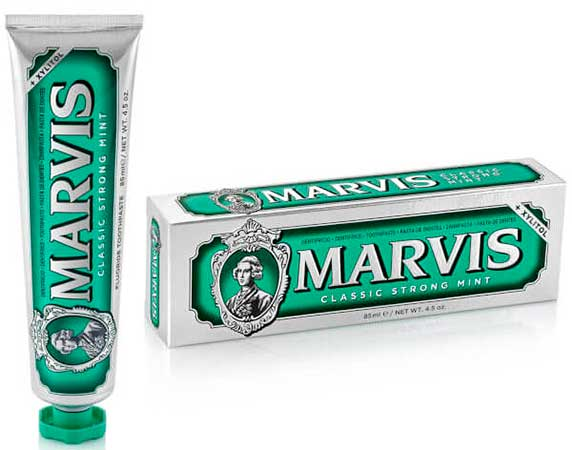 Зубная паста Marvis Strong Mint Toothpaste.