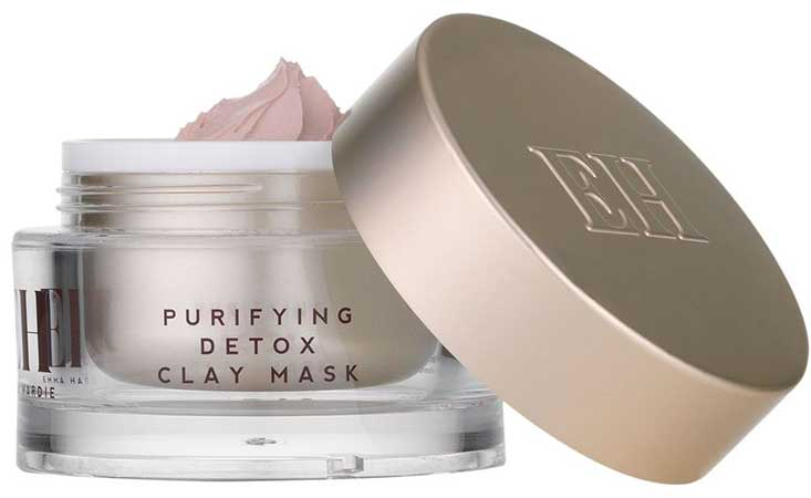 Маска-детокс для лица Emma Hardie Purifying Detox Pink Clay Mask
