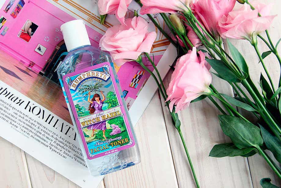 Смягчающий тоник Humphreys Skin Softening Lilac Witch Hazel Facial Toner отзыв