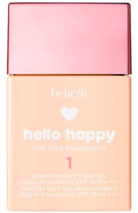 Тональная основа Benefit Hello Happy Soft Blur Foundation