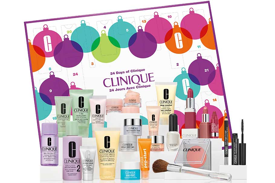 Clinique Advent Calendar 2018 наполнение
