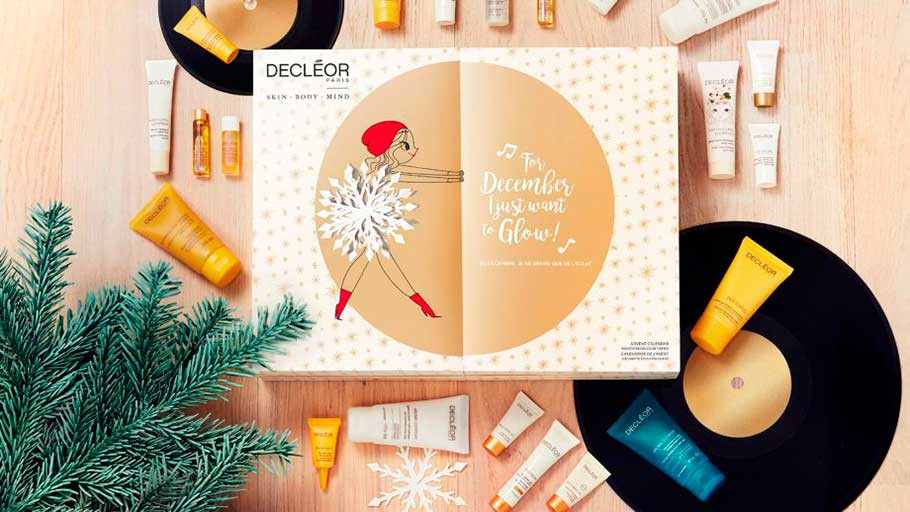 Decleor Christmas Advent Calendar 2018 наполнение