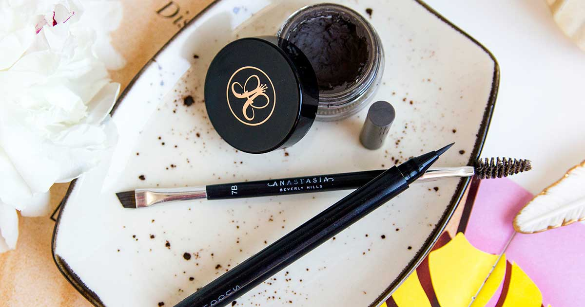 кисть для бровей Anastasia Beverly Hills Duo Brush #7B
