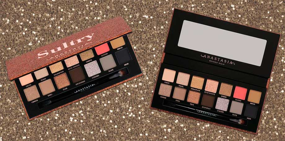 Палетка Anastasia Beverly Hills Sultry Eye Shadow Palette