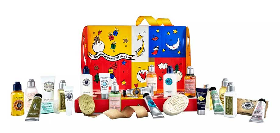 L'Occitane Advent Calendar 2018 наполнение