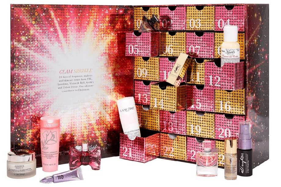 Selfridges L'Oreal Luxe Advent Calendar наполнение