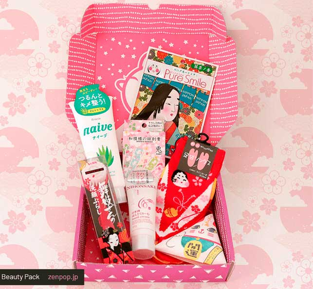 ZenPop Japanese Beauty Pack сентябрь 2018