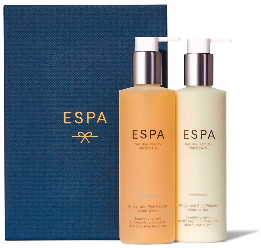 Набор ESPA Ginger and Pink Pepper Handcare Collection