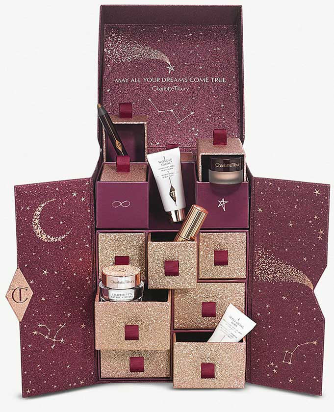 Charlotte Tilbury Advent Calendar 2018 наполнение