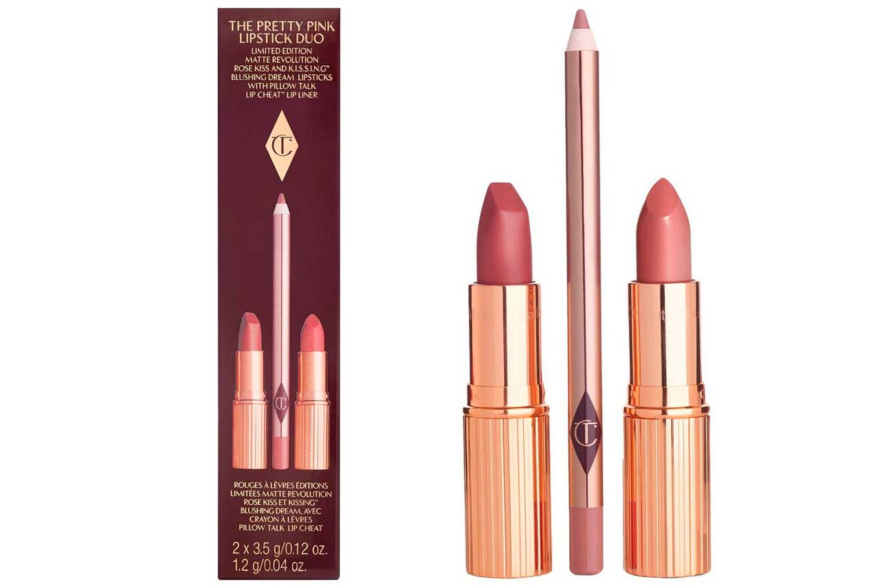 Набор Charlotte Tilbury The Pretty Pink Lipstick Duo