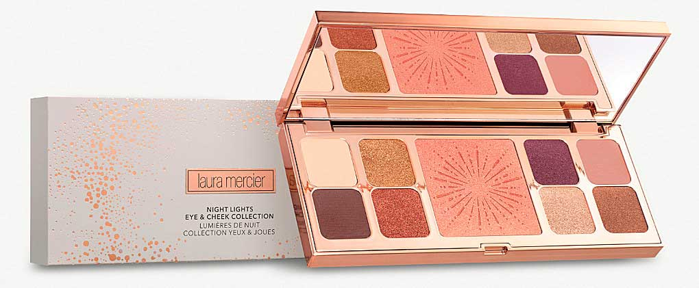 Палетка Laura Mercier Night Lights Eye and Cheek Palette