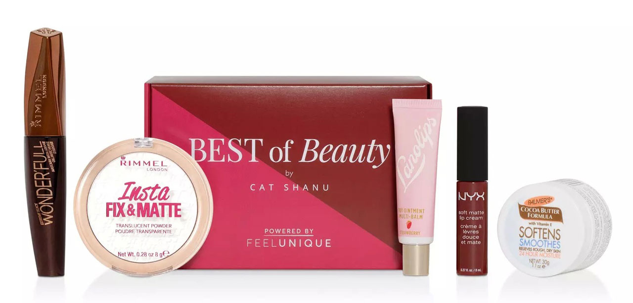 Бьюти-бокс Feelunique x Cat Shanu Beauty Box