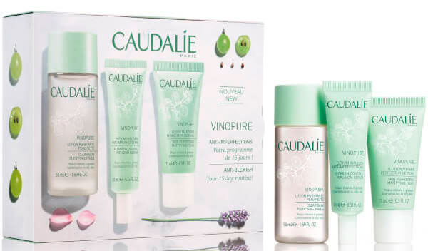 Набор Caudalie Vinopure 15 Days Clear Skin Starter Kit