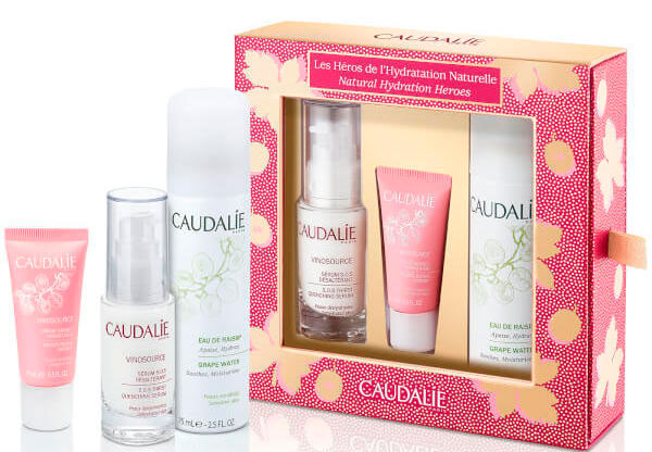 Набор Caudalie Vinosource Natural Hydration Heroes Set