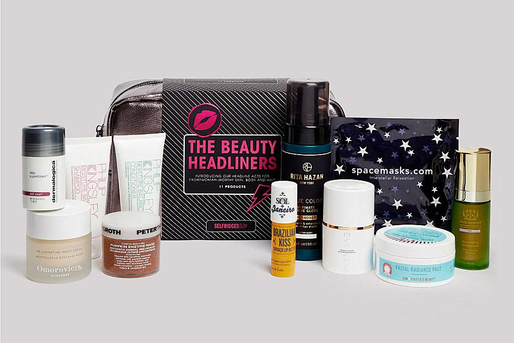 Набор Selfridges The Beauty Headliners Bag