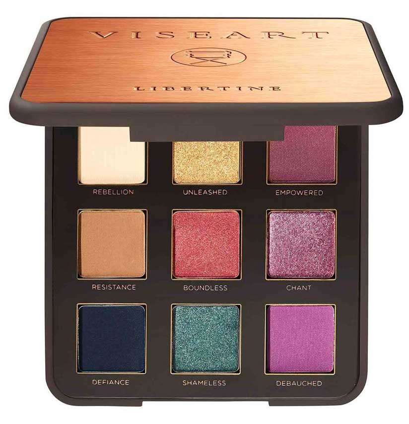 Палетка теней Viseart Libertine Palette