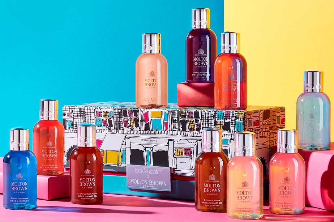 Lookfantastic x Molton Brown Beauty Box - наполнение