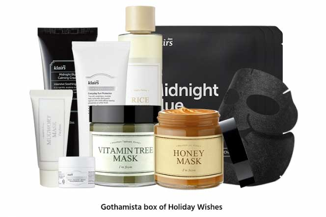 Бьюти-бокс Wishtrend x Gothamista Box of Holiday Wishes