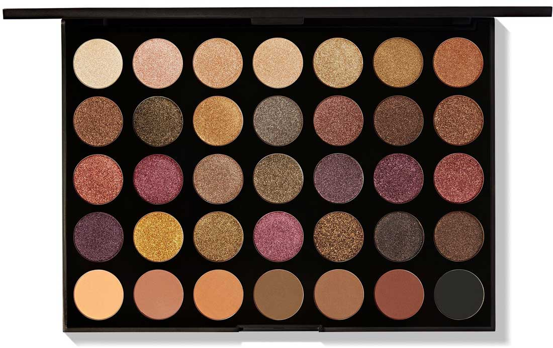 Палетка теней Morphe 35F Fall Into Frost Eyeshadow Palette