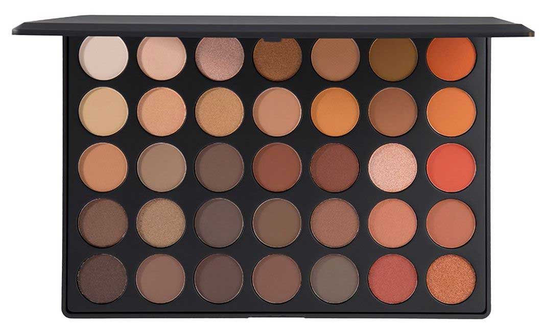 Палетка теней Morphe 35O Nature Glow Eyeshadow Palette