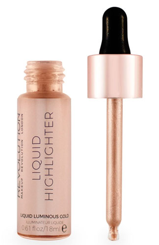 Жидкий хайлайтер Makeup Revolution Liquid Highlighter в оттенке Liquid Luminous Gold